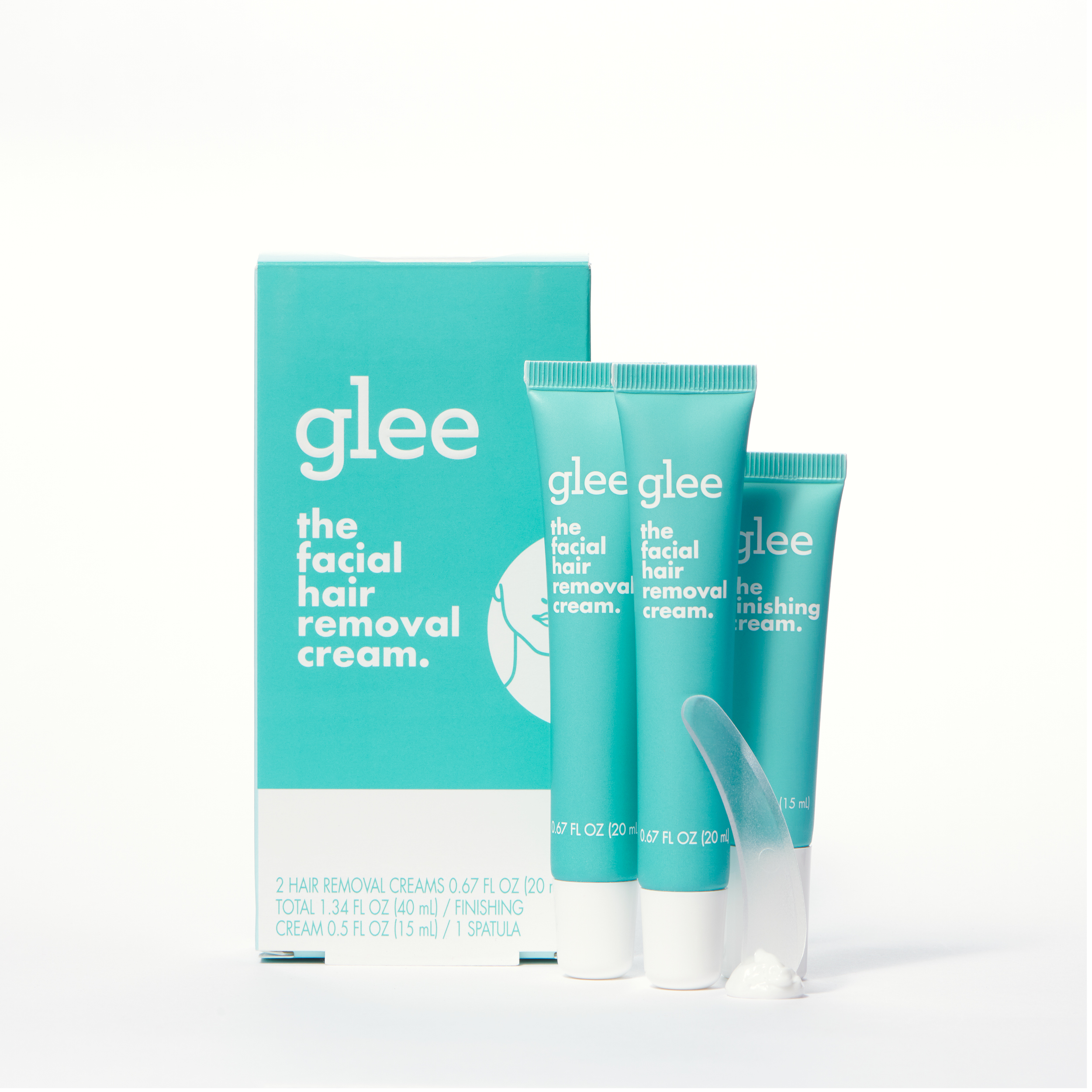 Glee Facial Hair Removal Cream Kit For Women Depilatory Walmart
