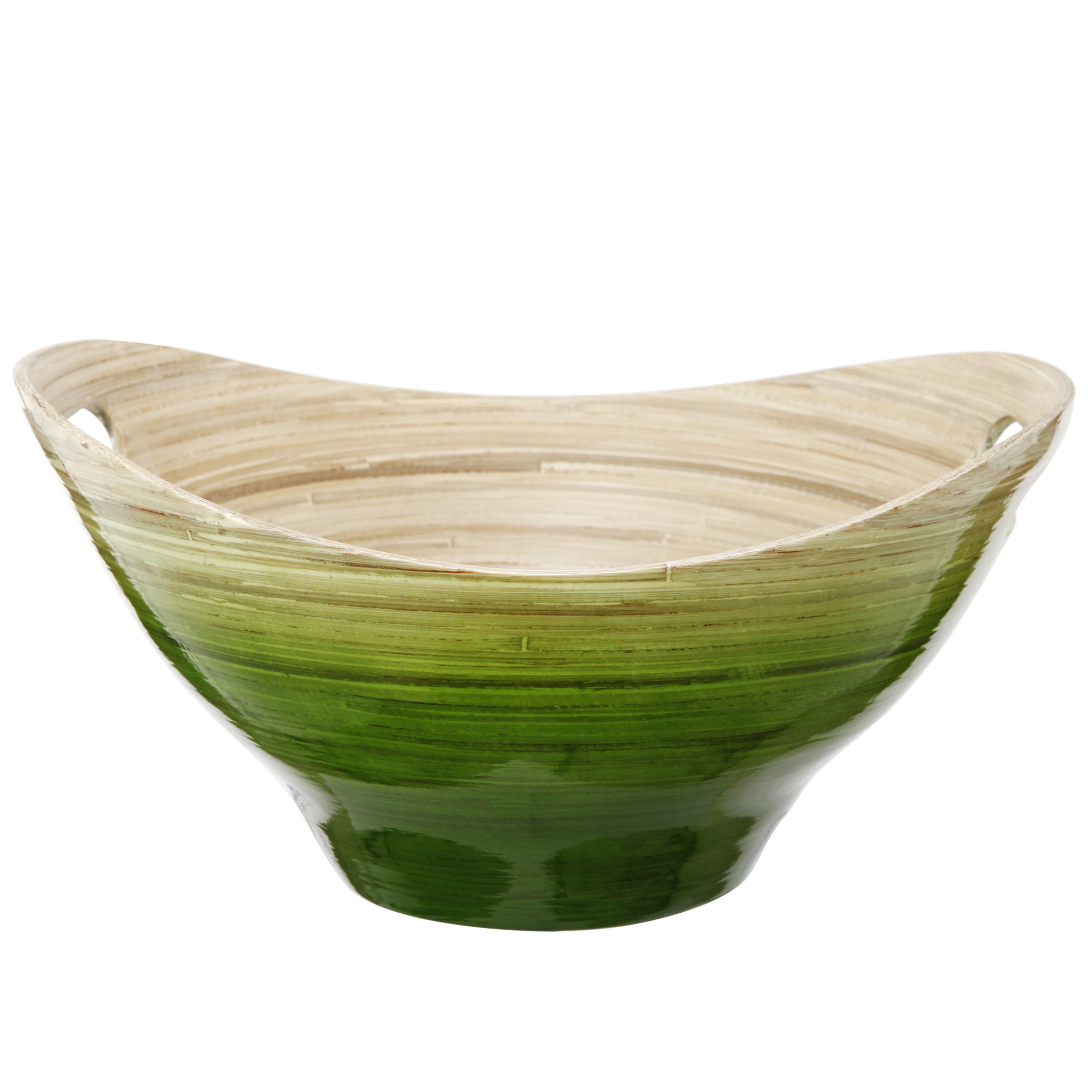 A&B Home Dynasty Bamboo Bowl, Green