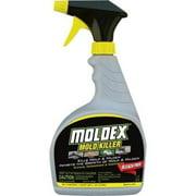 2PC Moldex Mold Killer Liquid - 0.25 gal (32 fl oz) - Fresh Clean Scent - 1 Each - White