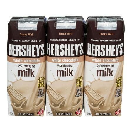 Hershey's 2% Reduced Fat Milk White Chocolate - 3 CT ...