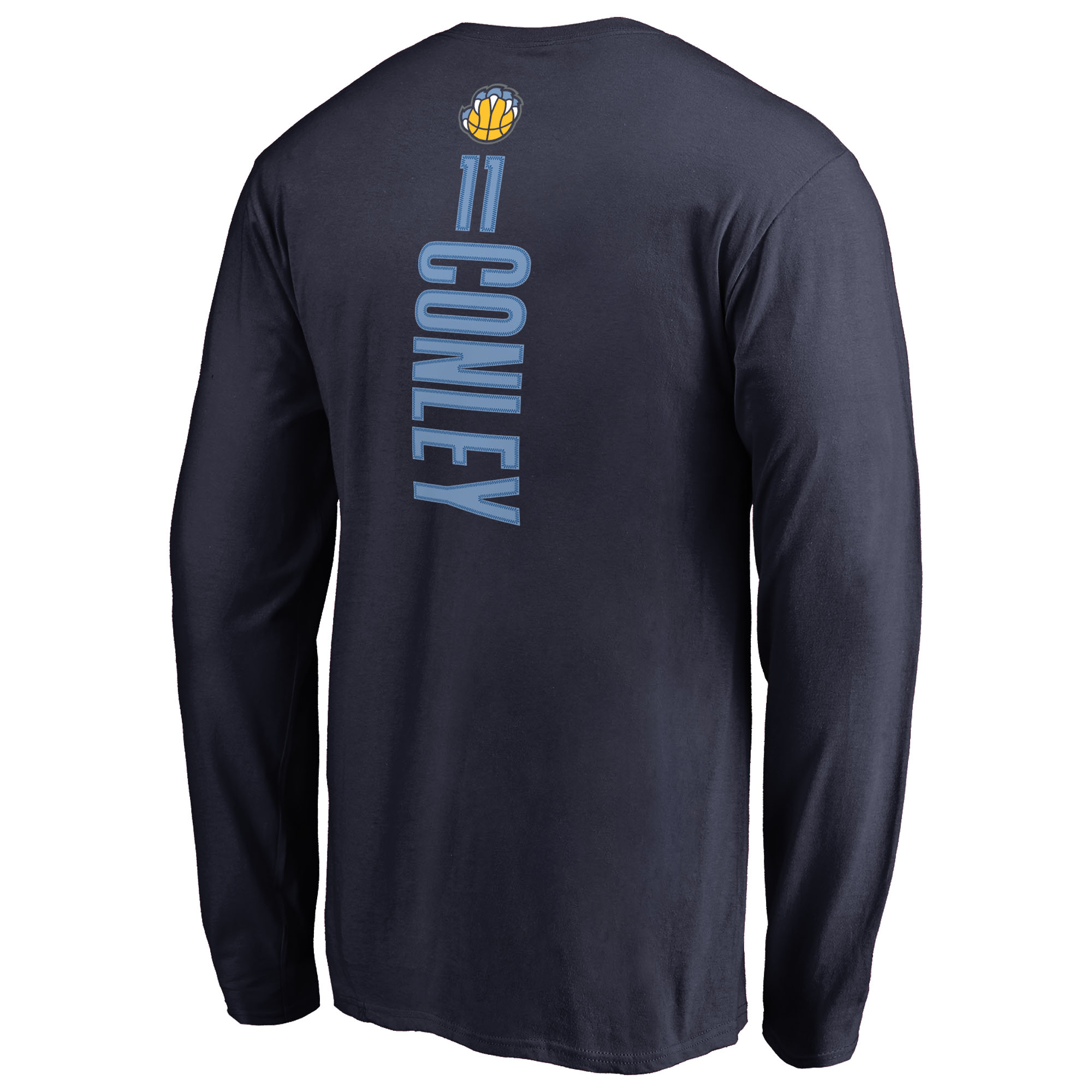 c2a4278ee05b Mike Conley Memphis Grizzlies Backer Long Sleeve T-Shirt - Navy -  Walmart.com