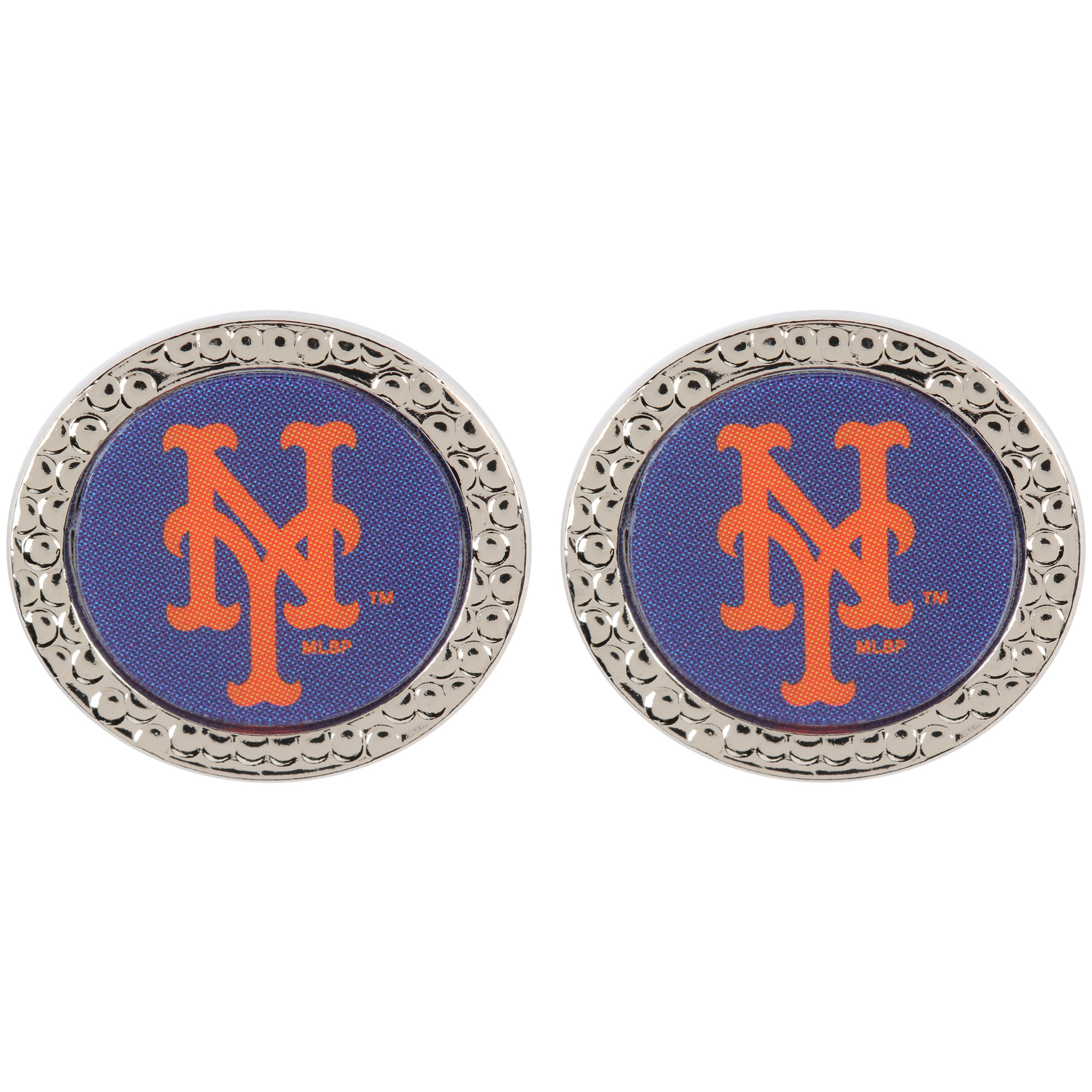 New York Mets WinCraft Women's Round Post Earrings - No Size
