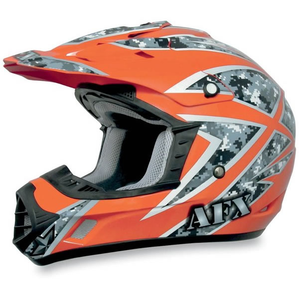 AFX FX-17 Hi-Vis Urban MX Helmet Safety Orange XL