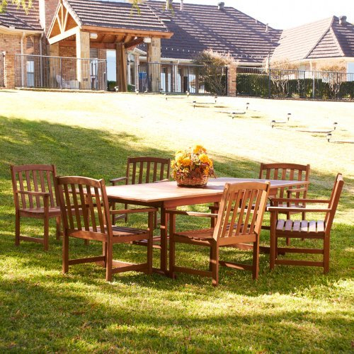 Southern Enterprises Dining Table Set - Seats 6