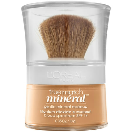 L'Oreal Paris True Match Loose Powder Mineral Foundation, N6 Honey