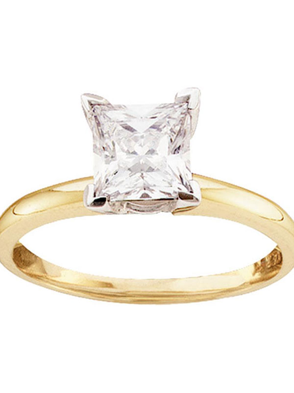 Diamond2Deal 10k Yellow Gold 7mm LTW Comfort Fit Band Fine Jewelry Ideal Gifts for Women