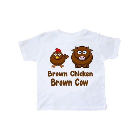 Brown Chicken Brown Cow Toddler (Cow Chicken T-shirt)