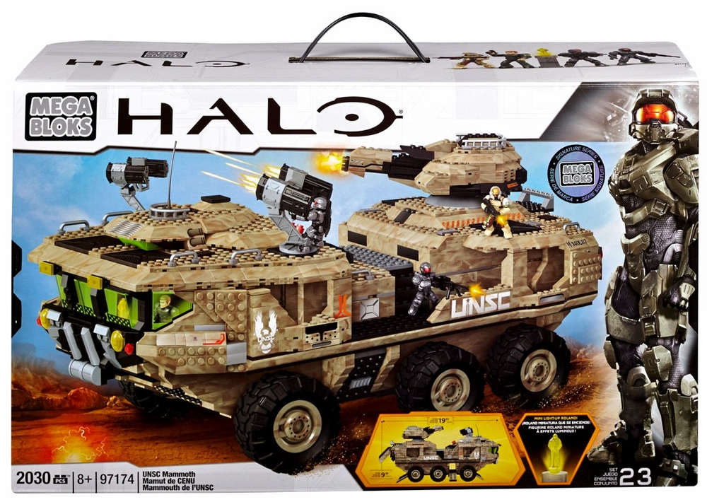 Mega Bloks Halo UNSC Halo Mammoth by