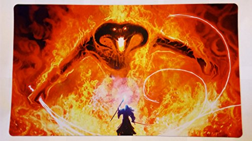 The hobbit Mouse pad Premium LOTR Mouse Pad Gandalf vs balrog Mouse pad Balrog mouse pad Lord of the rings Mouse pad for Gamer