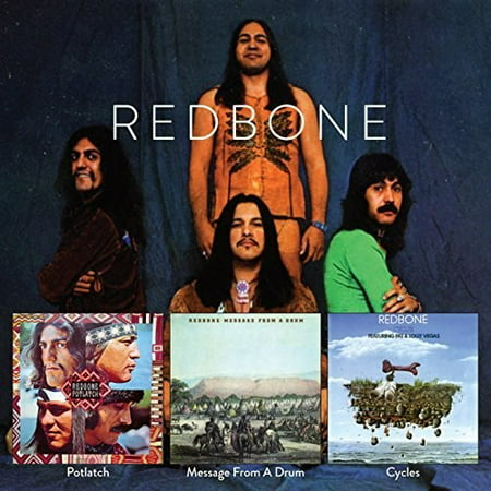 Redbone - Potlatch / Message From A Drum / Cycles (Best Of Leon Redbone)