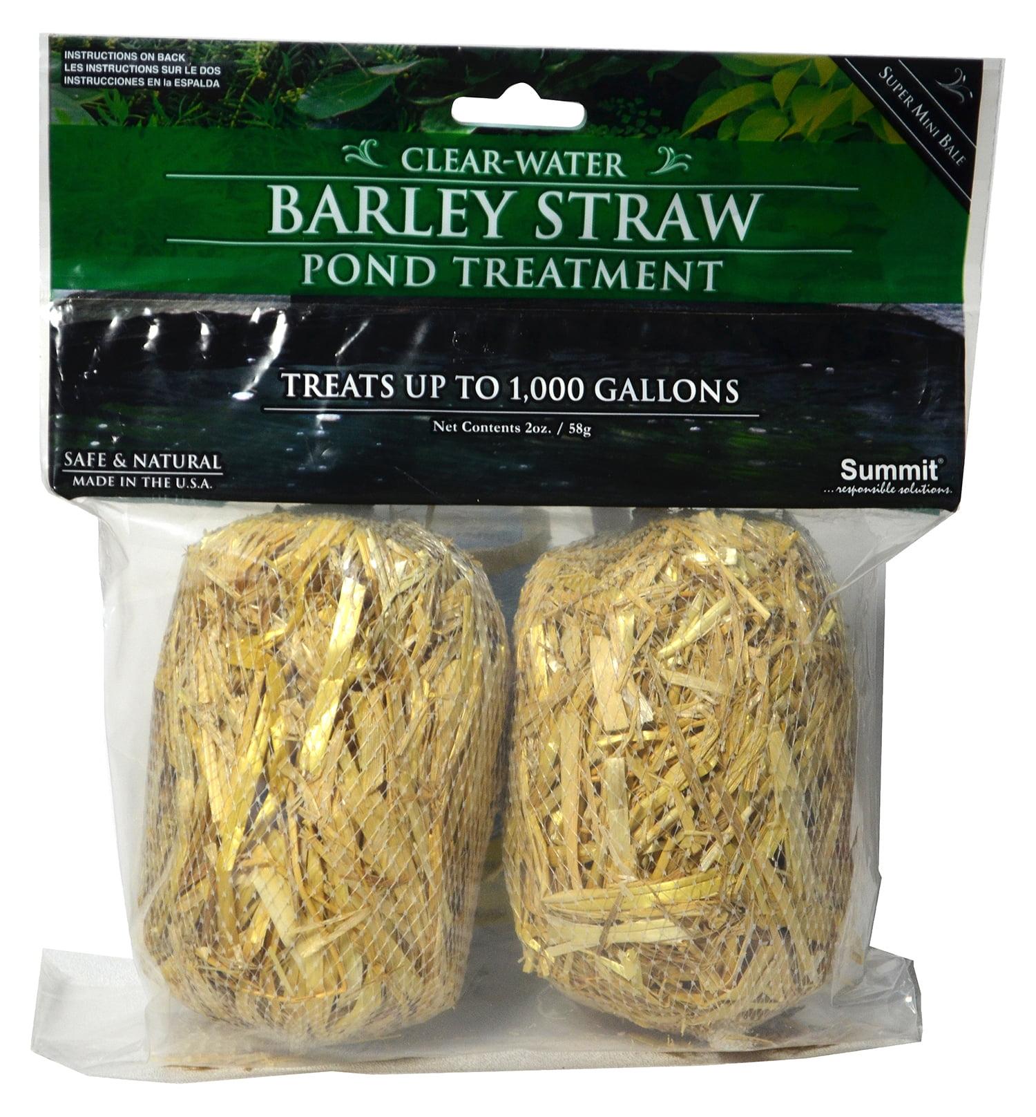 Summit Chemical #125 1000 Gallon Clear Water Barley Straw