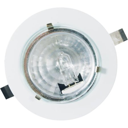 Brass Bronze Bulb (Cal Lighting BO-603 Mini Recess 12V 20W G4 with Bulb)