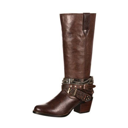 Durango Western Boots Womens Philly Accessorized Straps Brown DRD0073