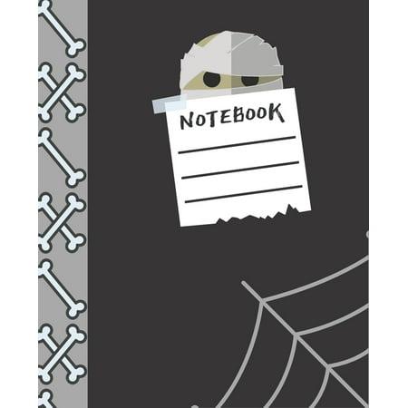 It Works Global Halloween (Notebook: Halloween Notebook - 7.5 x 9.25 Wide Ruled for school work boys girls students)