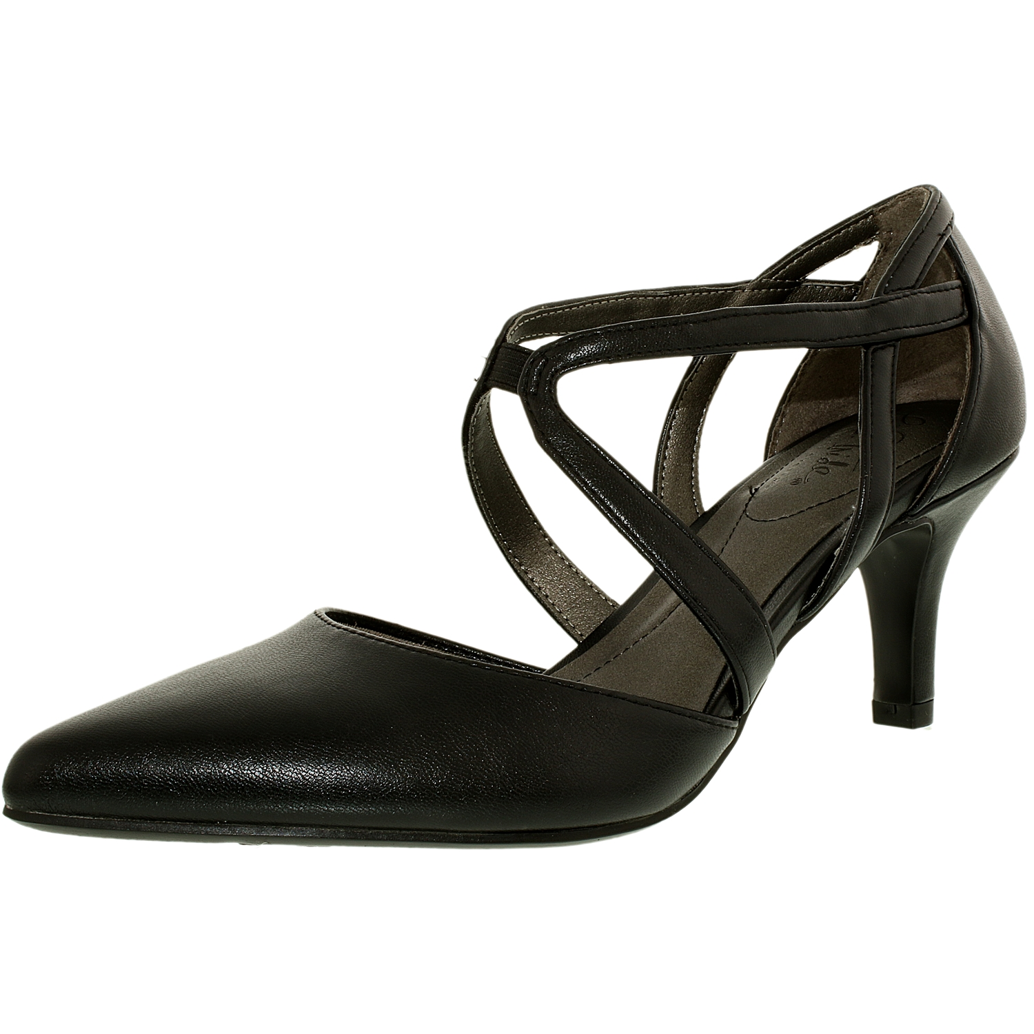 Lifestride Women's Seamless Leather Ankle-High Leather Pump