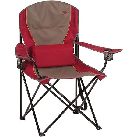 Coleman Oversized Quad Chair With Lumbar Support Walmart Com