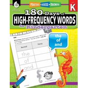 180 Days of High-Frequency Words for Kindergarten: Practice, Assess, Diagnose - eBook