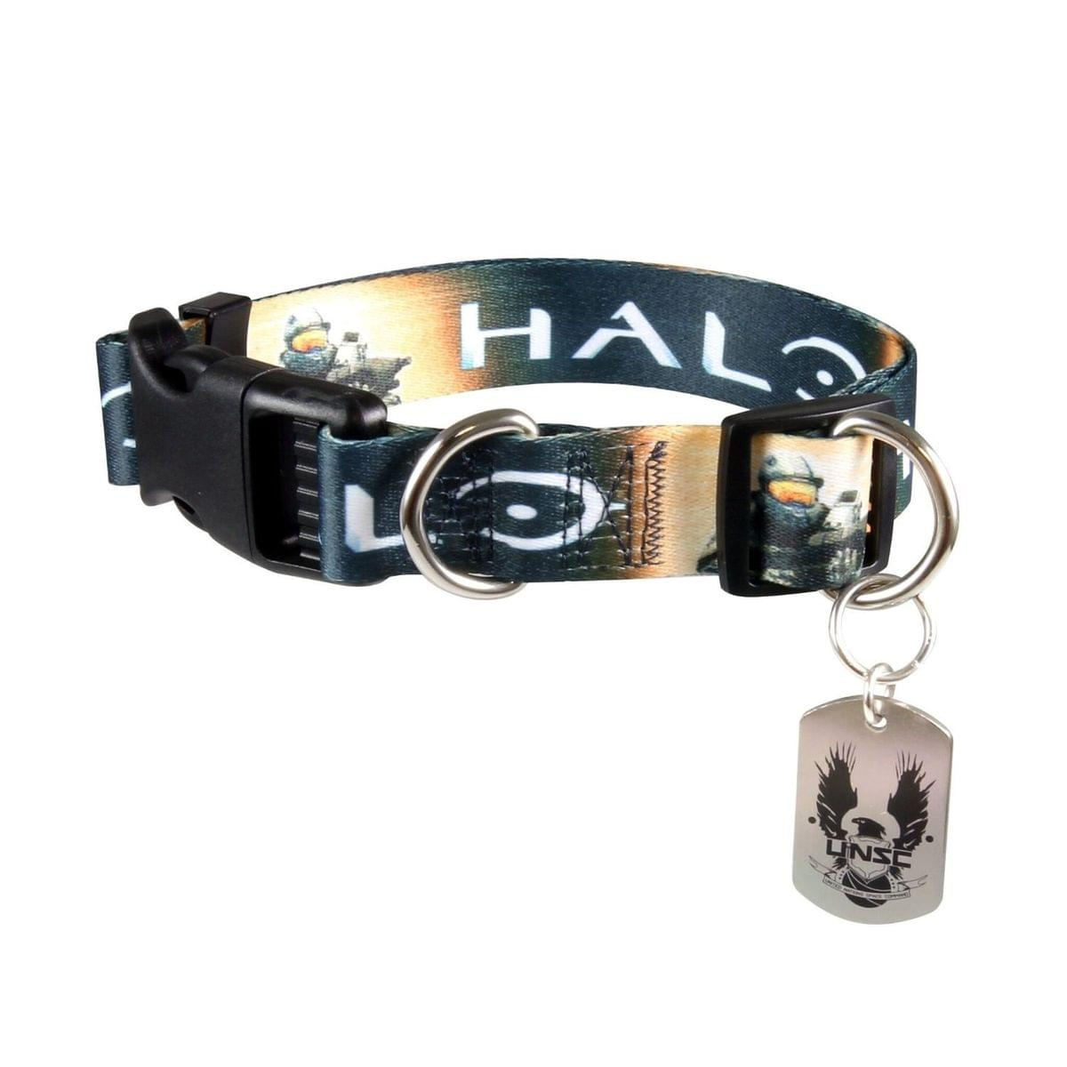 "HALO /""MASTER CHIEF/"" Dog collar Medium 12/""-16/"" Neck NEW WITH TAG"
