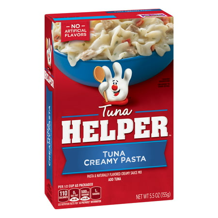 (6 Pack) Tuna Helper Tuna Creamy Pasta, 5.5 oz Box