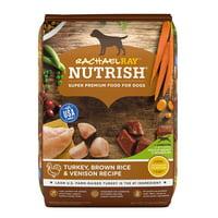Rachael Ray Nutrish Natural Dry Dog Food, Turkey, Brown Rice & Venison Recipe, 13 lbs