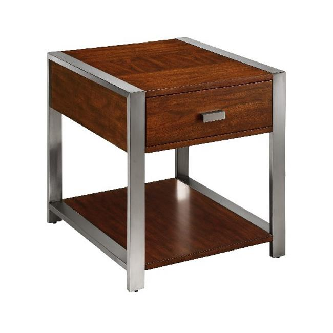 Klaussne Furniture 012013363805 24 x 26 x 22 in. Tony End Table by Klaussne Furniture