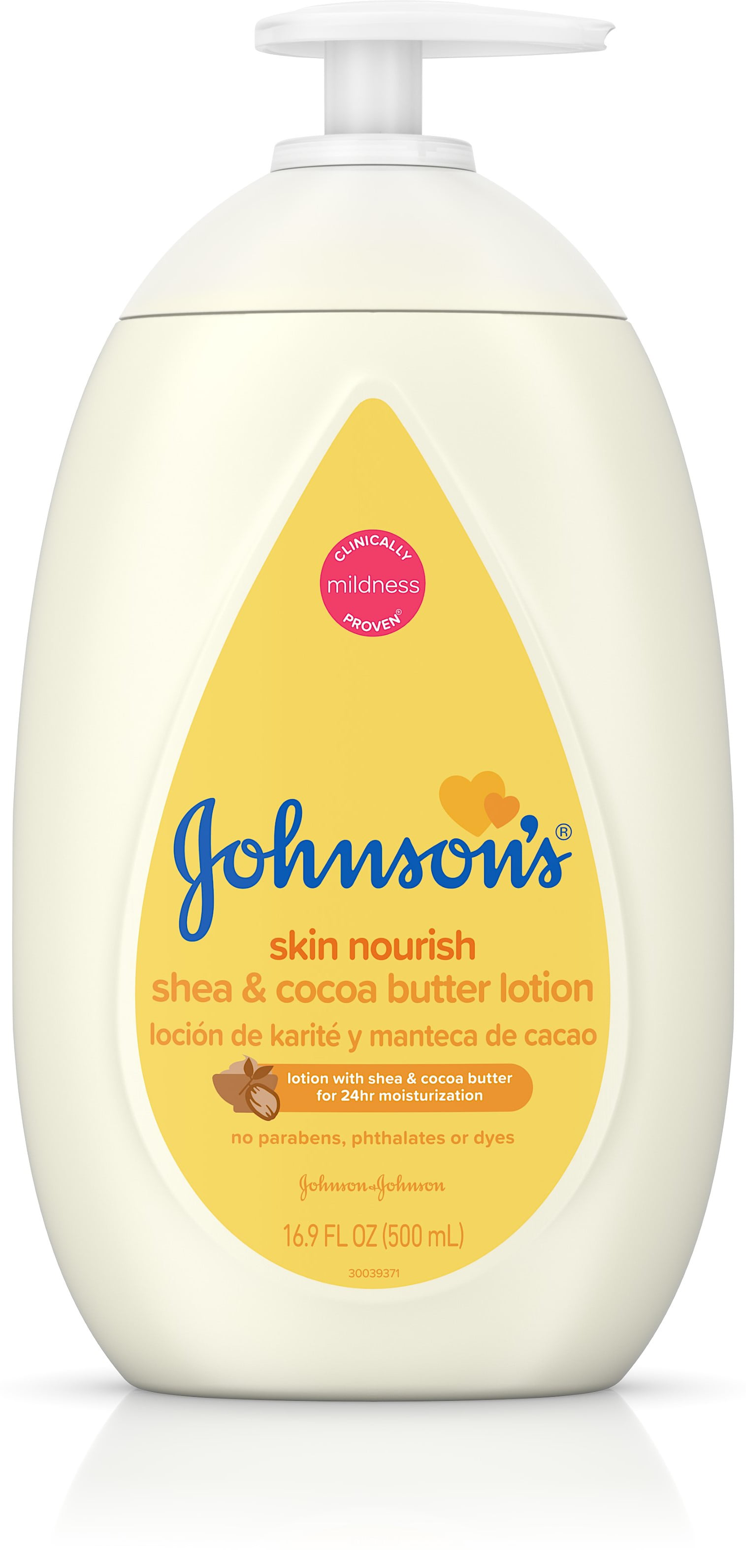 3 Pack JOHNSON'S Moistruizing Dry Skin Baby Lotion With Shea & Cocoa Butter 16.9 oz by Johnson%27s
