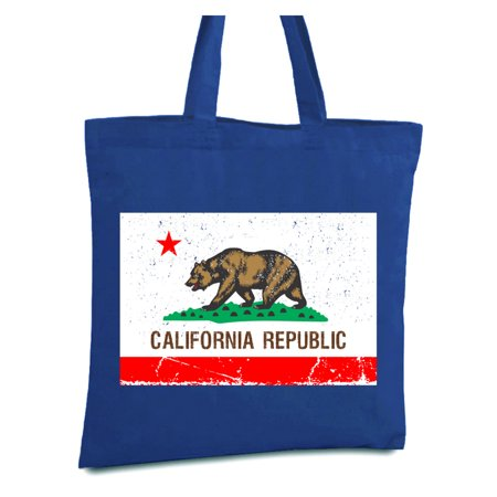 Awkward Styles California Republic Flag Tote Bag California Canvas Bag Cali Reusable Shopper Bag Cali Gifts Cali Bear Cloth Bag Gifts from California California Summer Bags California Acccessories (Handbag Republic)