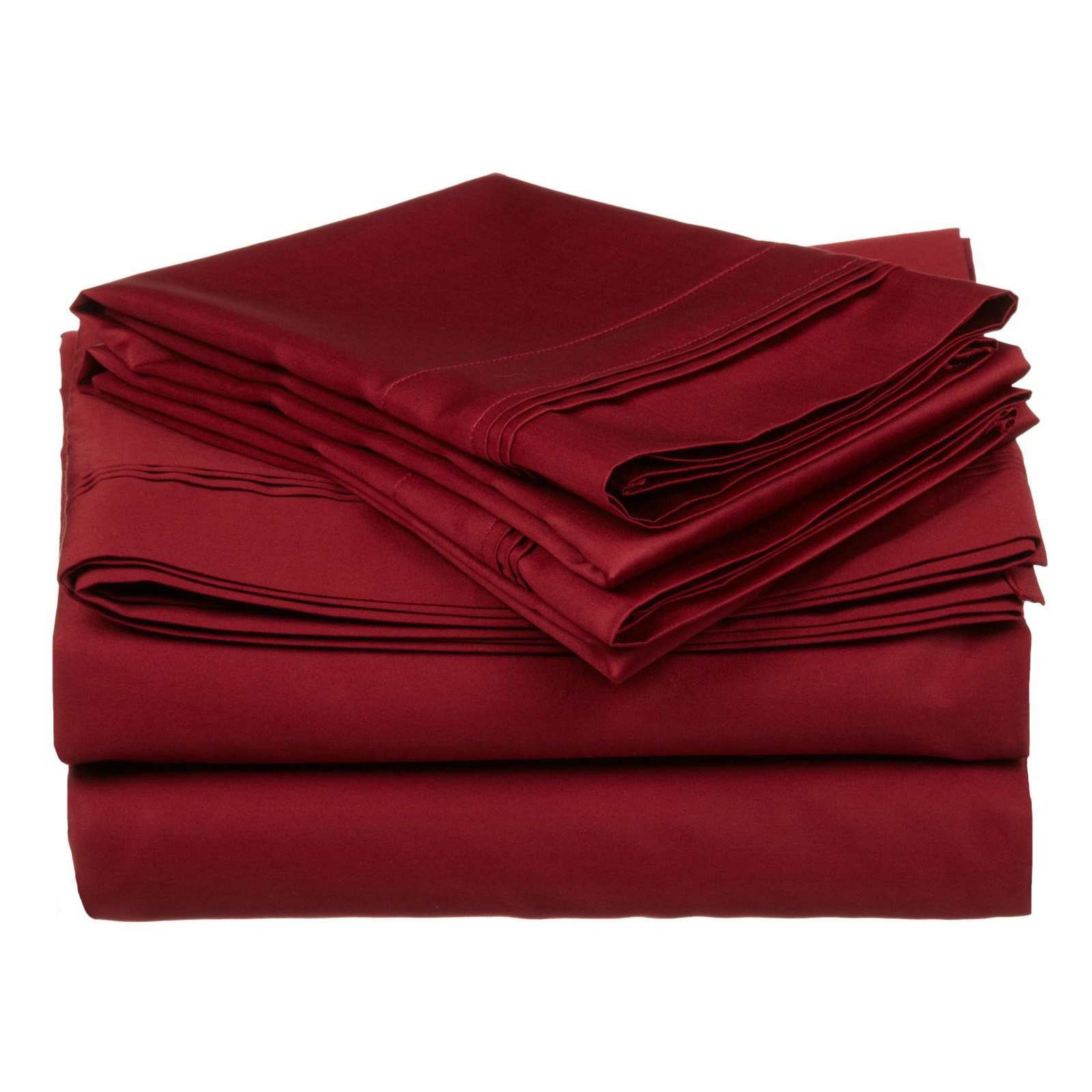 Superior 650 Thread Count Long-Staple Combed Cotton Solid Sheet Sets