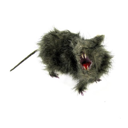 Office Party Ideas For Halloween (Lifelike Fake Fur Rat Realistic Scary Rodent Prop Office Prank Halloween Party)