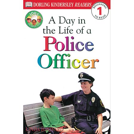DK Readers L1: Jobs People Do: A Day in the Life of a Police Officer - Gift Ideas For Police Officers