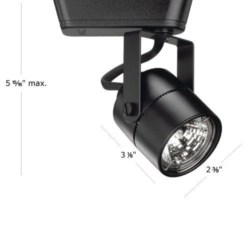 WAC Lighting 75W MR16 Premium Low Voltage Black J Series Track Head