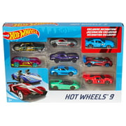 Hot Wheels 9-Car Collector Gift Pack (Styles May Vary)