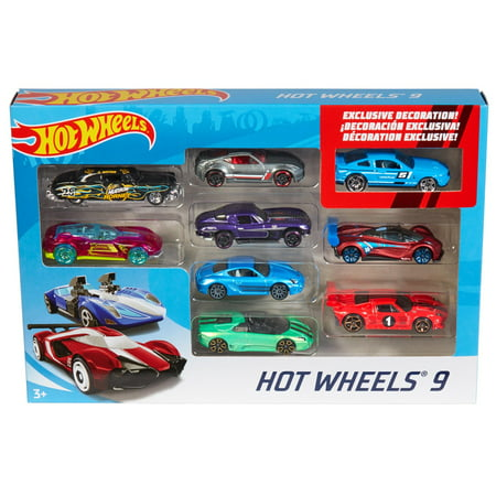 Hot Wheels 9-Car Collector Gift Pack (Styles May Vary) Hot Wheels Auto