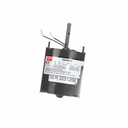 - Dayton 3M548 1/15 HP HVAC Motor, 3000 rpm