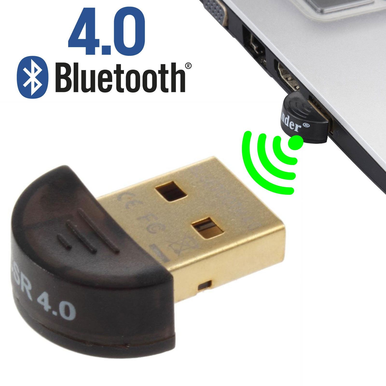 Eeekit Usb Mini Bluetooth 4 0 Csr4 0 Adapter Dongle Bluetooth Receiver Wireless Transfer Adapter For Pc Laptop Bluetooth Headphones Headset Speakers Keyboard Mouse Printer Windows 10 8 1 8 7 Walmart Com Walmart Com