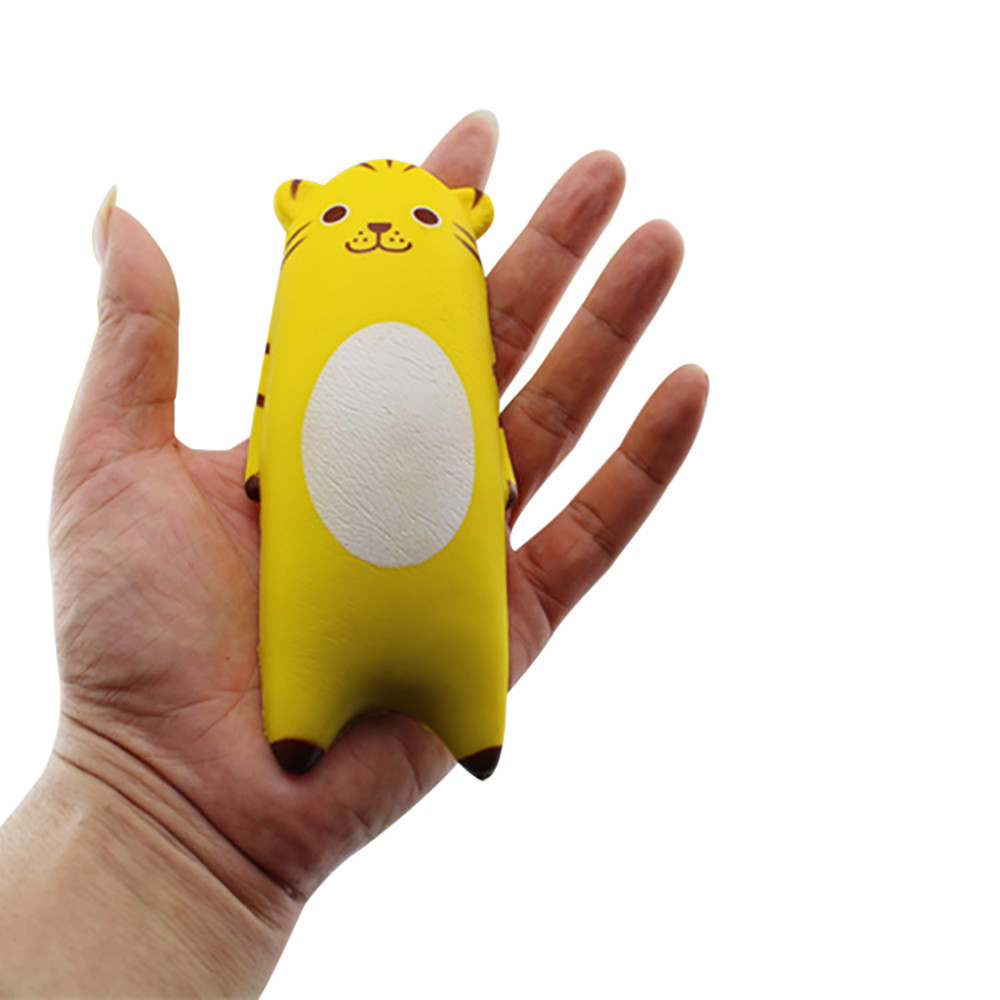 Binmer Squishy Cute Animal Bread Phone Straps Slow Rising Bun Charms Gifts Toys