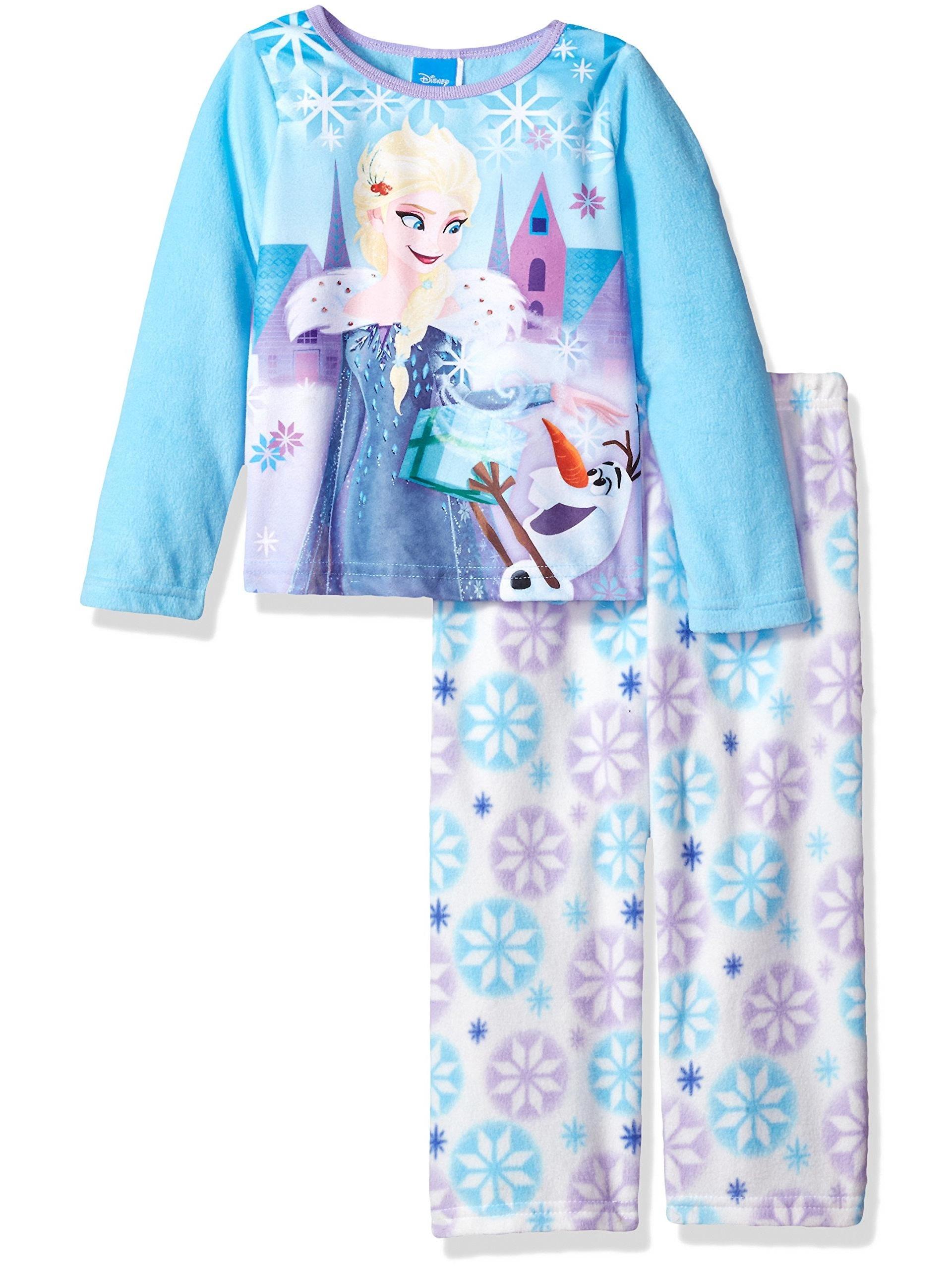 Disney Girls' Frozen 2-Piece Pajama Set