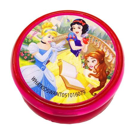 Disney Princess Girls Light Up LCD Yo Yo Kids Toy Cinderella Snow White Belle - Belle And Snow White