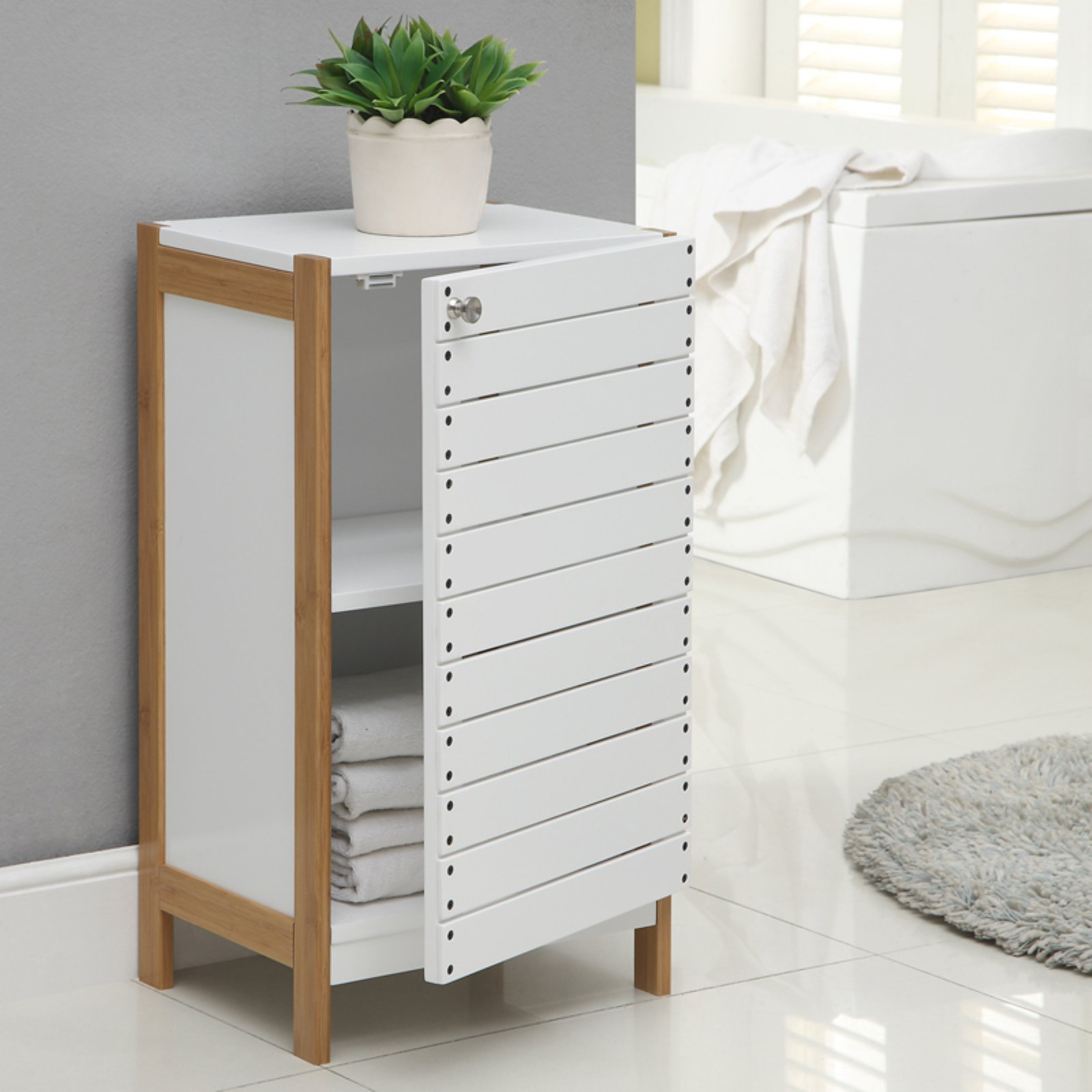 Neu Home Rendition Bath Floor Cabinet