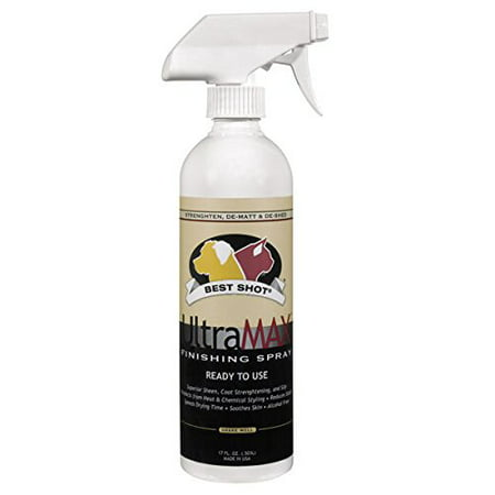 UltraMax Dog and Cat Professional Finishing Spray 17 oz Ready Use Coat