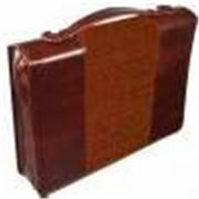 Christian Art Gifts 369605 John 3-16 Large Brown And Tan Two Tone Luxleather Bible Cover