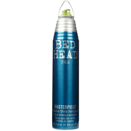 Tigi Bed Head Masterpiece Massive Shine Hairspray, 9.5 (Gold Glimmer Shine Spray)