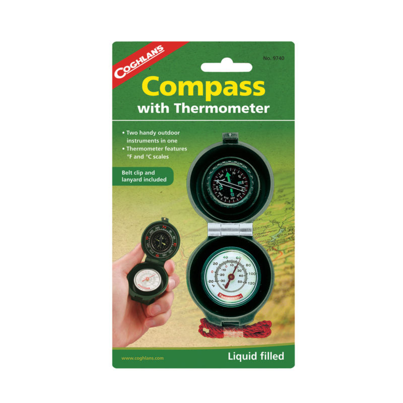 Coghlans 9740, Compass with Thermometer