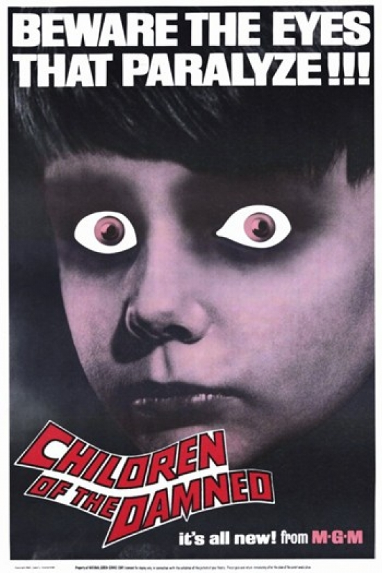 Children of the Damned Movie Poster (11 x 17) by Pop Culture Graphics