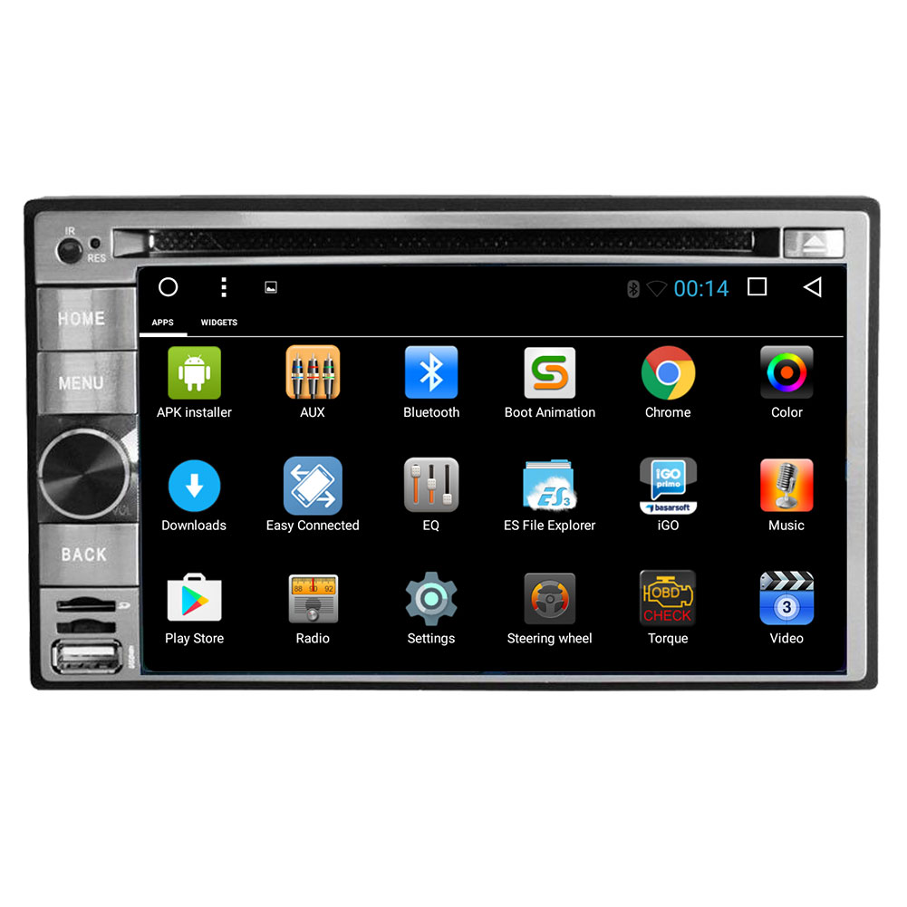Android 6.0 Operation System Car DVD Player in Dash Radio...
