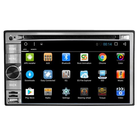Android 6 0 Operation System Car Dvd Player In Dash Radio 1080P Video Multimedia Player Support Wifi Mirror Link   Airplay 6 2 Inch Automotive Gps Navigation Bluetooth Dual Camera Input