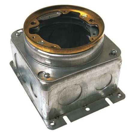 Raco 6255 Floor Box 54 0 Cu  In  Capacity Round G5491057
