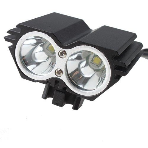 AGPtek 5000 Lumens 2x CREE XM-L U2 LED Cycling Bike Bicycle Light Headlamp HeadLight