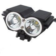 AGPtek 5000 Lumens 2x CREE XM-L U2 LED Cycling Bike Bicycle Light Headlamp HeadLight