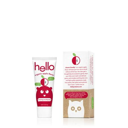 (2 Pack) hello organic apple toddler training